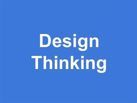 design thinking crash course design thinking crash course