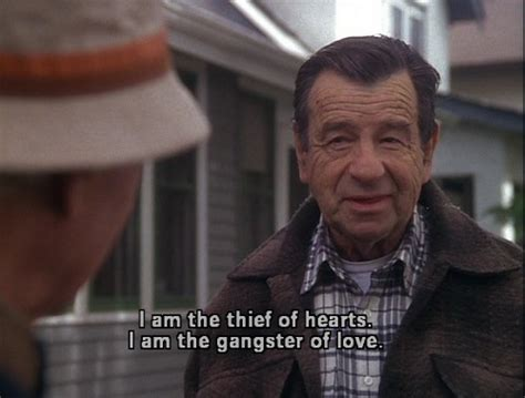 Grumpy Old Men Meme - i am the thief of hearts i am the gangster of love