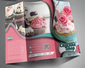bakery brochure template 25 and cupcake shop brochure templates