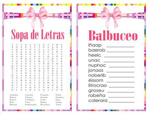 sopa de letras de baby shower para imprimir gratis apexwallpapers items similar to 2 in 1 games sopa de letras and balbuceo