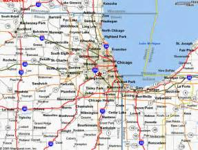 Illinois Tollway Map by Map Of Chicago Toll Booths Pictures To Pin On Pinterest