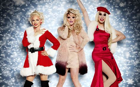 rupaul hey sis it s christmas 15 christmas anthems from drag race queens to listen to