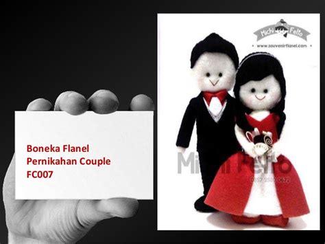 Boneka Flanel Mahar Pernikahan boneka flanel souvenir pernikahan souvenir flanel