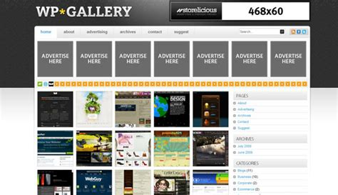 wp gallery storelicious wordpress template 187 themelock