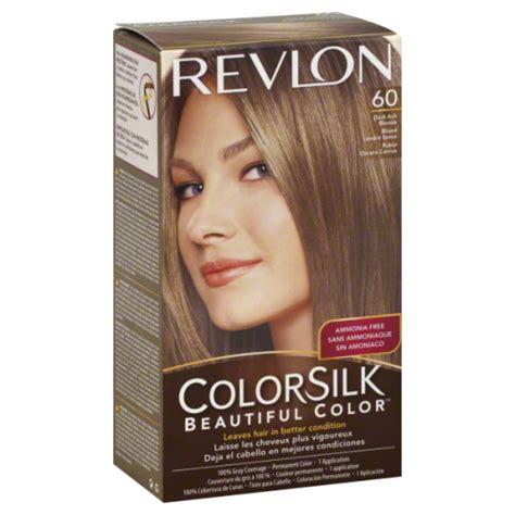 hair dye for 60 revlon colorsilk 60 dark ash blonde