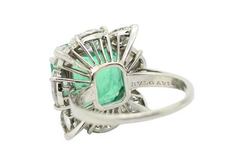 1950s bulgari emerald ring massoni massoni roma