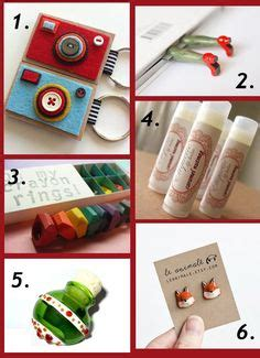 Handmade Stuffers - gift ideas for you can buy diy