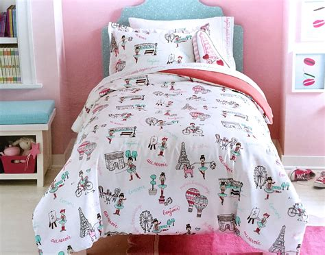 paris themed comforter sets total fab paris eiffel tower themed bedding for less
