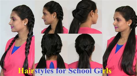 Simple Hairstyles For School by Easy And Simple Hairstyles For School