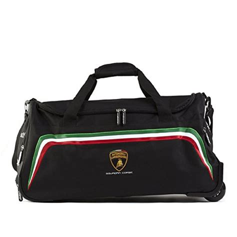 Lamborghini Bag Lamborghini Squadra Corse Wheeled Travel Bag Misc In
