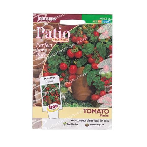 Harga Benih Tomat Permata F1 benih tomato minibel 50 biji johnsons seeds bibitbunga
