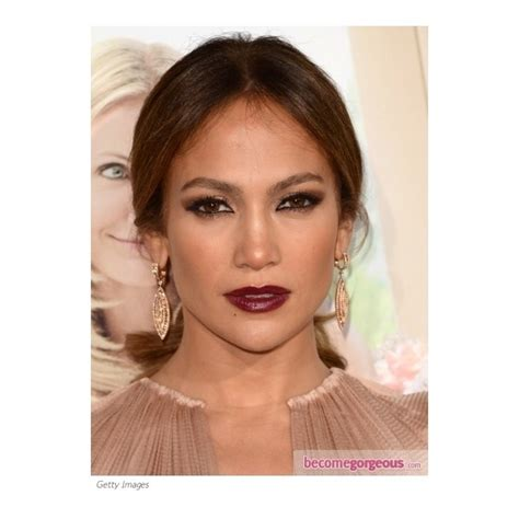 what red lipstick dows jennifer lopez wear 1000 images about burgundy lips on pinterest