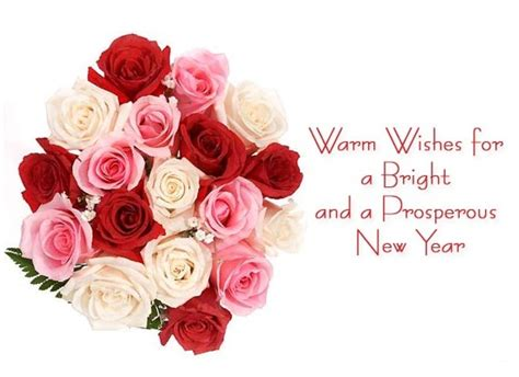 new year wishes flowers flowers wallpapers