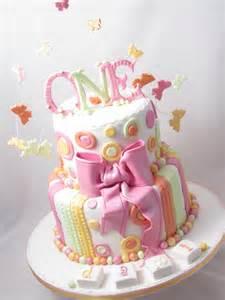 Pastel colours 1st birthday cake the cake way