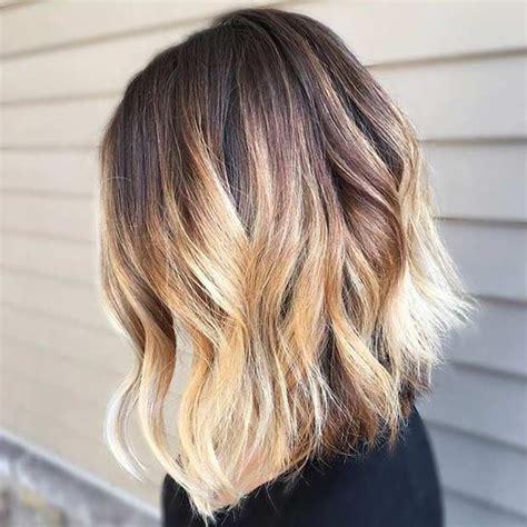 balayage lob 31 gorgeous long bob hairstyles lob cut blonde balayage