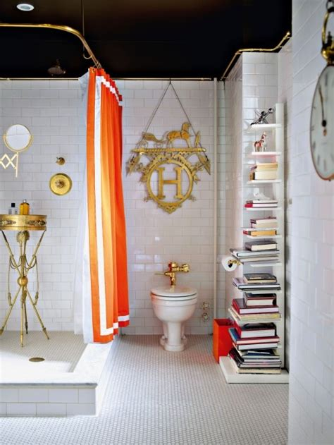 jonathan adler bathroom jonathan adler s bathroom styled by holly becker home