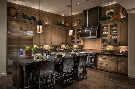 Kitchen With Black Cabinets 52 Kitchens With Wood And Black Kitchen Cabinets