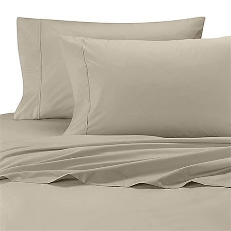 bed bath and beyond egyptian cotton sheets buy wamsutta 174 cool touch percale egyptian cotton dual king