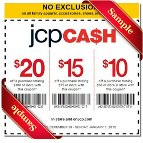 jcpenney printable coupons december jcpenney printable coupon december 2016