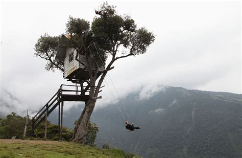 swing in ecuador the swing at the edge of the world is known locally in