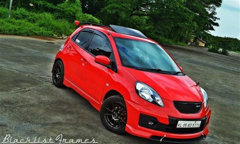 honda brio modified india s fastest accelerating hatchback below 5 lakh rupees