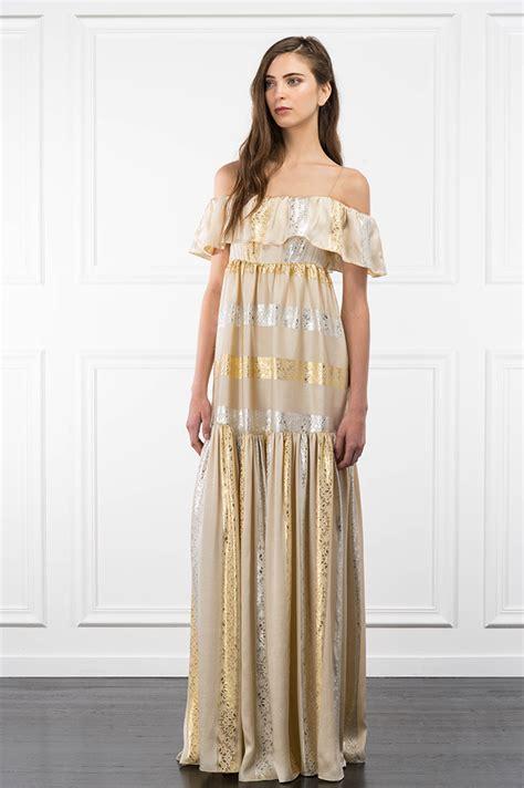 Dress Zoe Simple Soft Flower Dress Pesta Anak Perempuan zoe preview resort 2017
