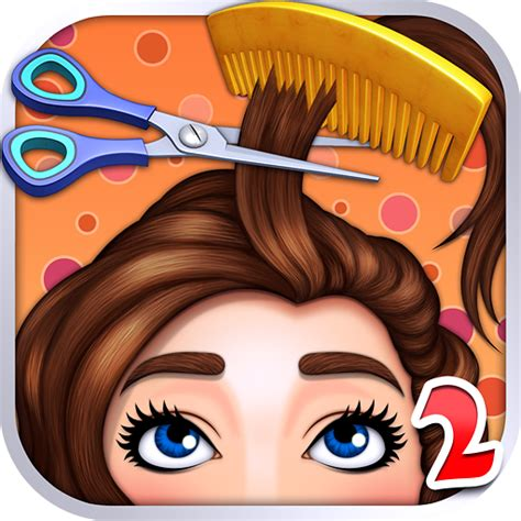 cartoon hairstyles games amazon com hair salon kids games appstore for android