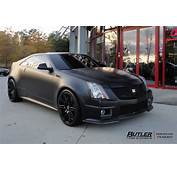 Cadillac CTS V Coupe With 20in XO Milan Wheels Exclusively