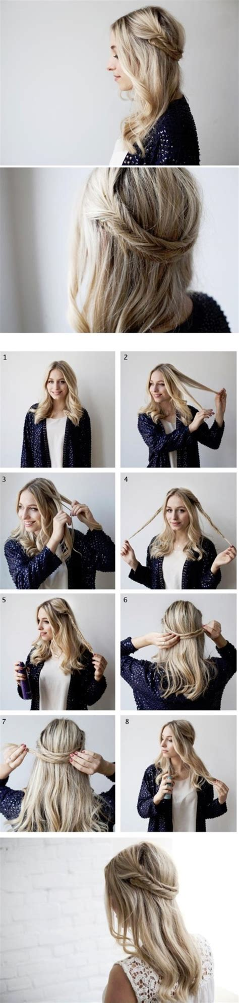 Hairstyles Using Hair Style Kit by 101 Easy Diy Hairstyles For Medium And Hair To Snatch
