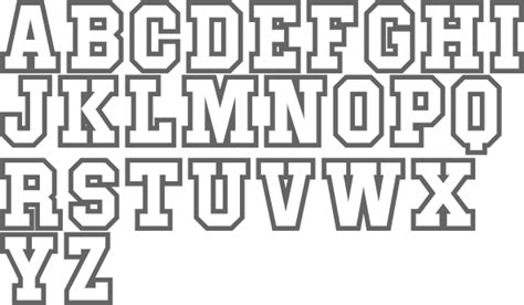 College Letterman Font myfonts nick curtis