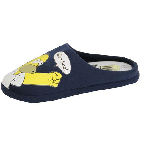 homer slippers mens slippers homer simpsons minions wars tetley mule