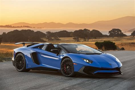 lamborghini aventador sv roadster production numbers 15 best convertible supercars hypercars ever supercars net