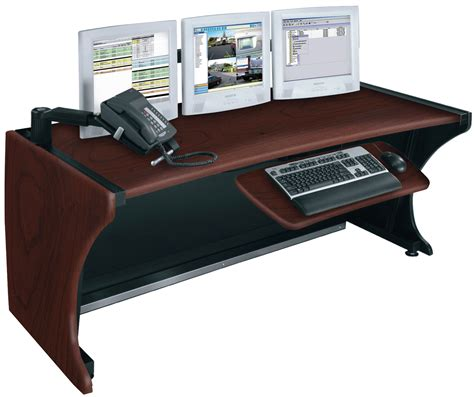 Middle Atlantic Desk by Middle Atlantic Ld 6430dc Lcd Monitoring Desk Cherry