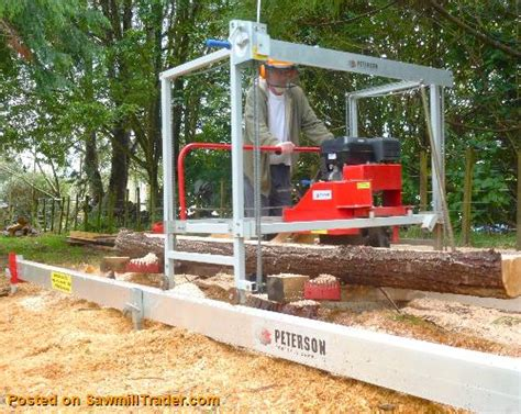 swing blade sawmill manufacturers junior peterson 6 swingblade portable sawmill circular