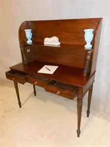 antique table desk antique mahgoany regency desk writing table antiques atlas