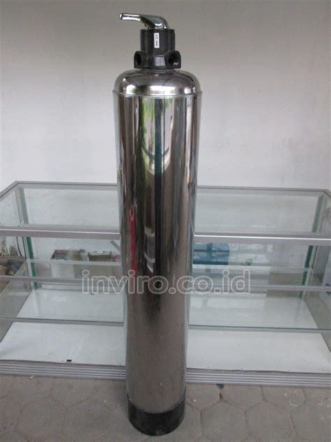 Tabung Filter Frp 1054 Nanotec tabung media frp lapis stainless steel 10 quot 1054 coat model 3 way valve inviro