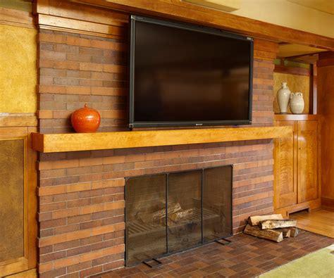 frank lloyd wright interior modern living room