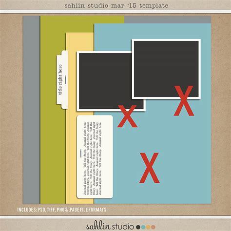 scrapbook templates word quality digiscrap freebies template freebie from sahlin