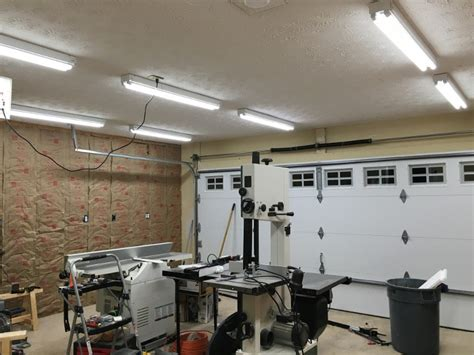 workshop lighting layout garage workshop lighting blood sweat and sawdust