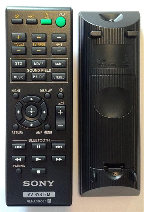 sony rm anp085 original remote fernbedienungen