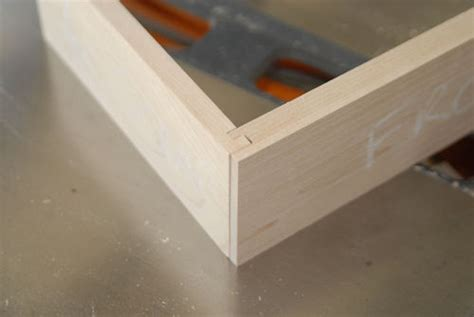 Pinned Rabbet Drawer by Dovetail Alternatives By Acol Lumberjocks
