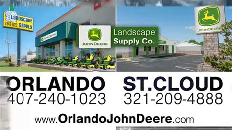 john deere at landscape supply in central florida youtube