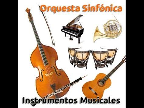imagenes de orquestas musicales instrumentos musicales orquesta gu 237 a did 225 ctica f 225 cil