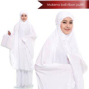Mukena Warna Putih mukena warna putih dengan bordir yang indah model 2018