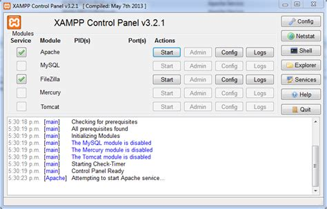 xp installing apache 2 2 service failed xampp apache could not start attempting to start