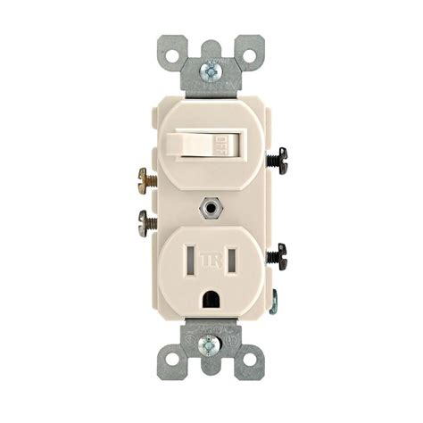 light switch and outlet combo leviton 15 amp ter resistant combination switch outlet