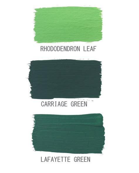 Home Interior Colour Dark Green Color Palette Interiors By Color