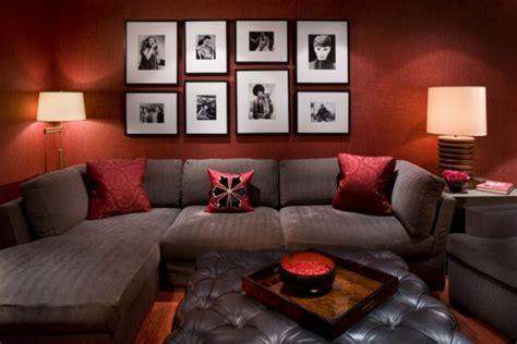 wohnzimmer rot die wohnzimmer deko erfrischen ohne viel geld auszugeben
