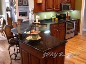 Black Countertop Kitchen Kitchen Bathroom Remodel Home Renovation Photo Gallery Grny Renovation Nyc