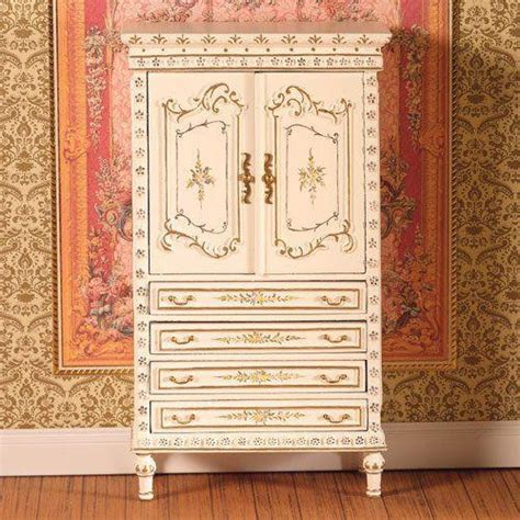 hand painted armoire the dolls house emporium hand painted armoire cabinet